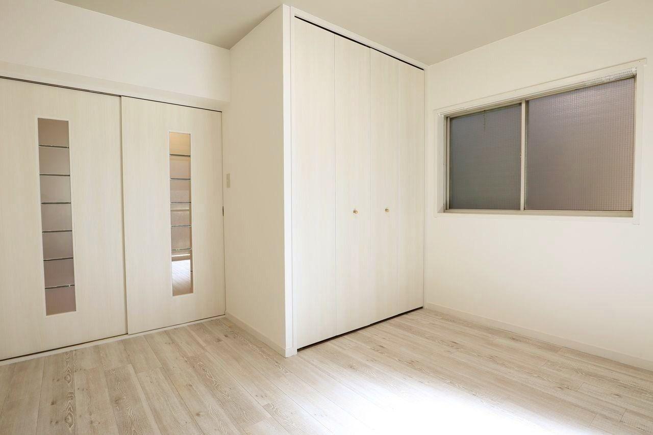 白を基調に、シンプルなデザインで統一しました