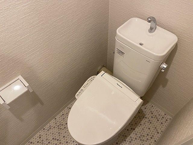 シャワー洗浄付きトイレ