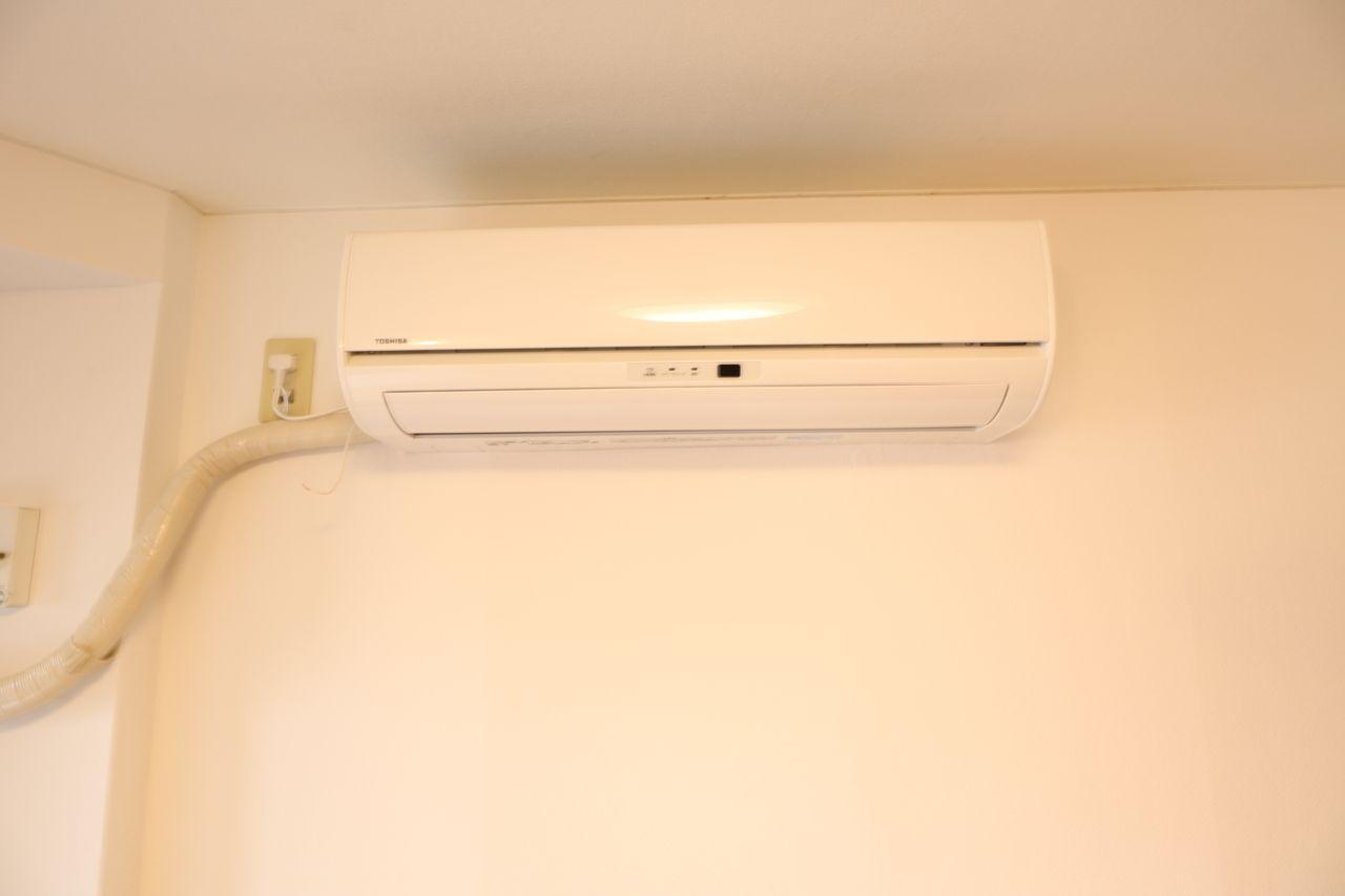 各部屋エアコン完備!