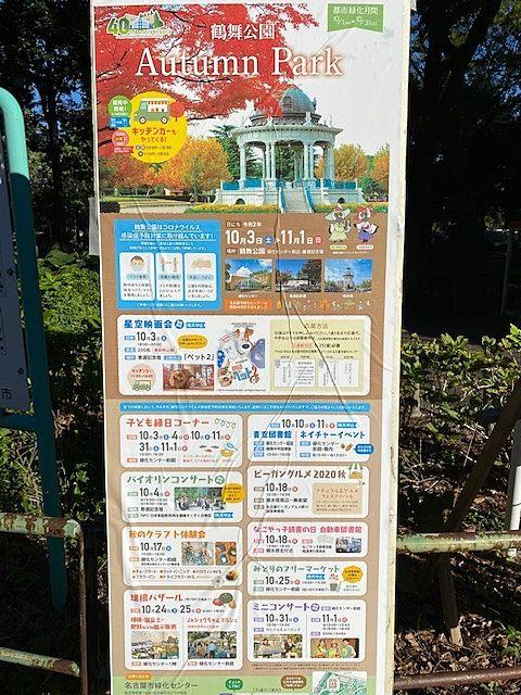 鶴舞公園 Autumn Park