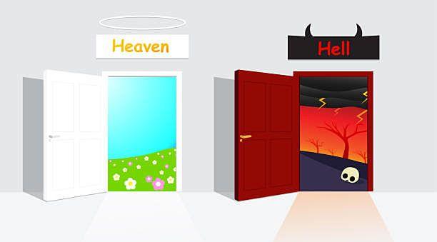天国か地獄か?!