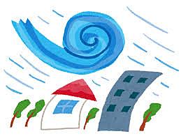 台風シーズン到来⁉